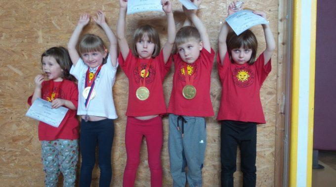 Předškolní Děti – Závody SG V Pardubicích 24. 2. 2018